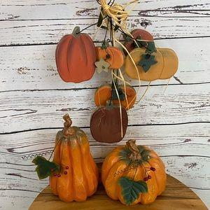 Fall Pumpkins Decor